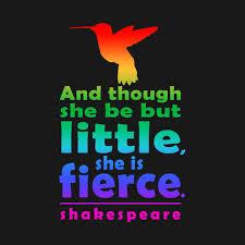 Be Fierce! Be aWarrior!